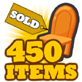 Items sold gold-small