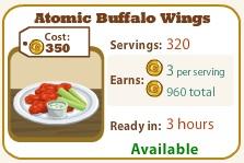 Atomic Buffalo Wings