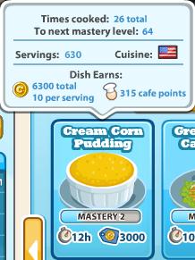 Creamcornpudding
