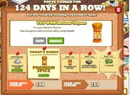 Cooking Day 124 Reward