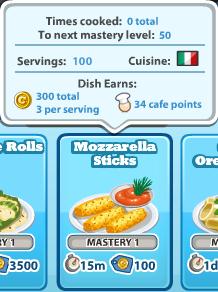 Mozzarellasticks