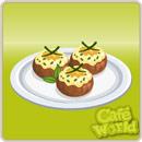 Taste test stuffed mushrooms