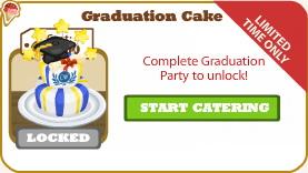 Graduation Cake locked