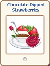 Chocolate Dipped Strawberries Gift