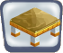 Golden Marble Table