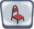 Red Avalon Chair