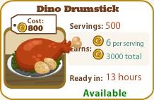 Dino Drumstick