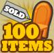 100itemsSold