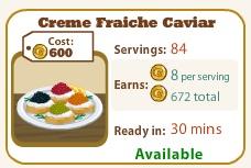 Creme Fraiche Caviar