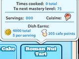 Roman Nut Tart