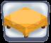 Fancy Golden Tablecloth