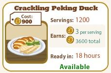 Crackling Peking Duck