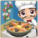Taste test seafood paella