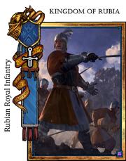 Rubia infantry
