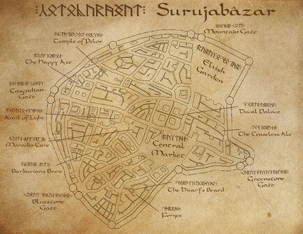 Surujabazar City map