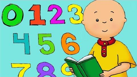 Learn Numbers with Caillou Caillou can count from 1 to10 WATCH ONLINE Songs for kids-0