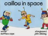 Caillou In Space