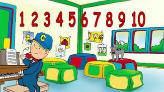 Learn Numbers with Caillou Caillou can count from 1 to10 WATCH ONLINE Songs for kids