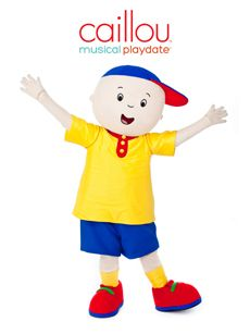 Caillou Musical Playdate