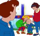 Caillou Stays Up Late