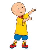 Caillou Joins the Circus