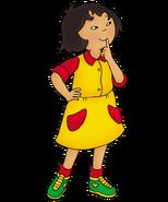 Caillou personajes sarah