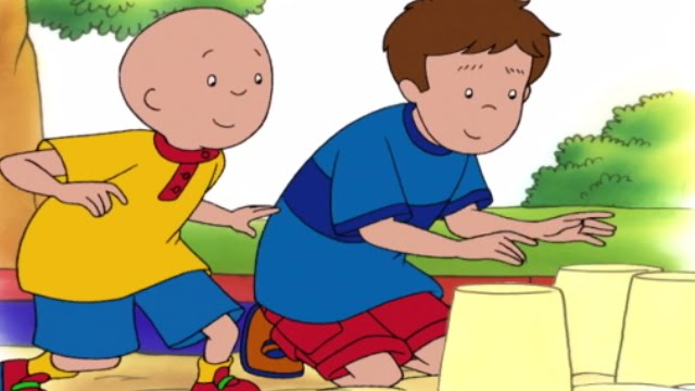 Caillou Meets Robbie  ...