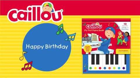 Happy Birthday (Caillou - My First Piano Book)