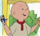 Caillou Coloring Activity