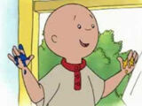 Caillou Painting Activity