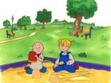 Caillou Makes a New Friend