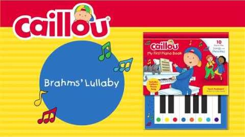 Brahms' Lullaby (Caillou - My First Piano Book)