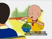 Caillou-Episode-62-Supper-With-Sarah