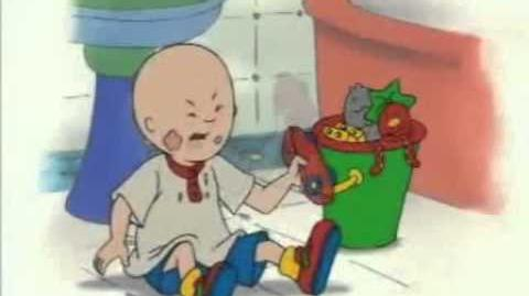 Caillou Joins The Circus (Good Quality)