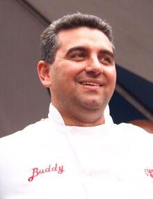 Buddy Valastro at the Jersey City Mayoral Inauguration