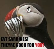 Sardines are good for you!