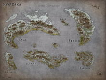Sever mapa