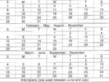 Common Calendar
