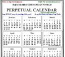Modified Gregorian Calendar