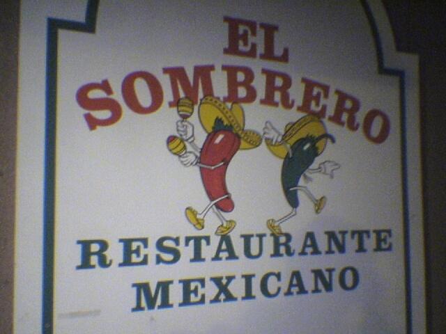 37072acf814a2 El Sombrero logo. El Sombrero Restaurante Mexicano ...