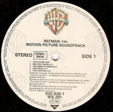 1989 batman label