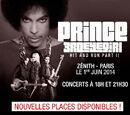 Paris, Le Zenith, 1 jun 2014