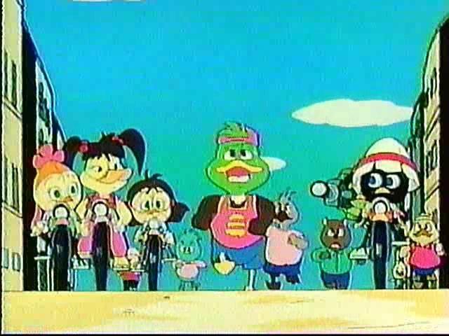 Calimero (1992) Episode 9 - Unusual! Sweat and Tears Marathon - カリメロ(1992年版)第9話 珍プレ-! 汗と涙のマラソン大会