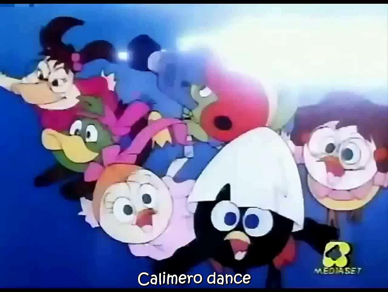 Calimero Italian OP (Calimero Dance) English Subbed