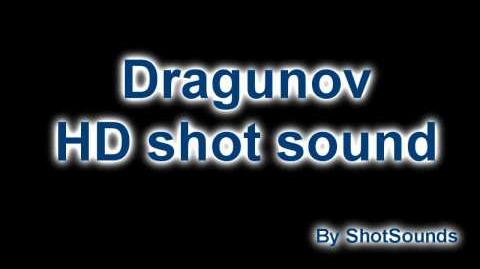 CoD BO Dragunov HD shot sound!