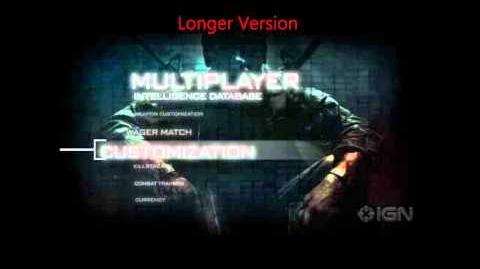 Longer Version Black Ops Menu Theme Song
