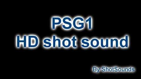 CoD BO PSG1 HD shot sound!