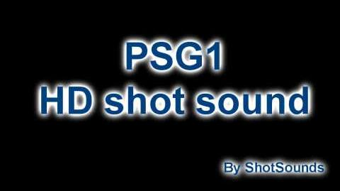 CoD BO PSG1 HD shot sound!