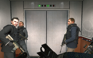 Vladimir Makarov beginning the massacre No Russian MW2