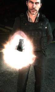 Makarov firing at Yuri MW3
